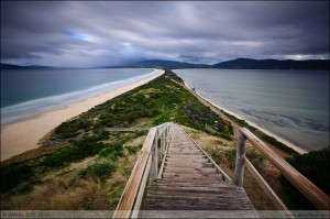 'The Neck' of Bruny Island